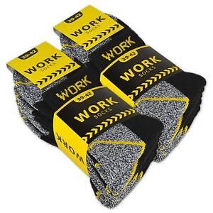 10-20-Paar-Arbeitssocken-Kurzsocken-Herren-Socken-Baumwolle-WORK