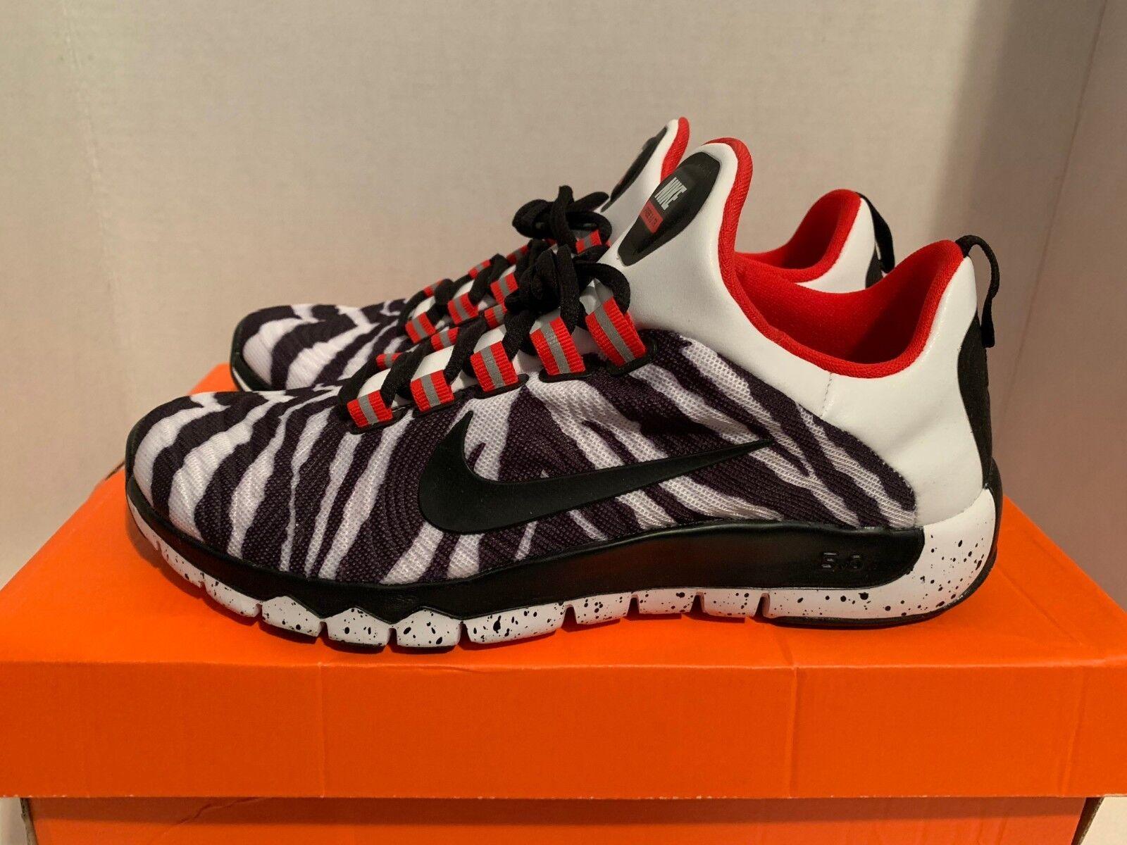 Nike Free Trainer 5.0 LE  Zebra  QS Size 8.5    658119 106