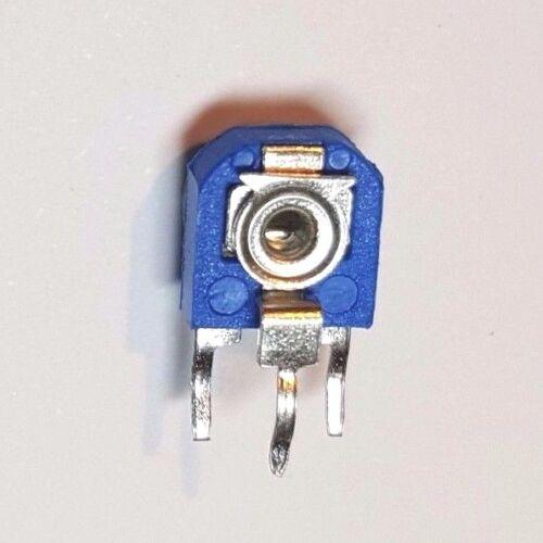 UK Potenciómetro de recorte-Lateral Ajustable-Paquete de 5-Elija entre 100Ohm-1M