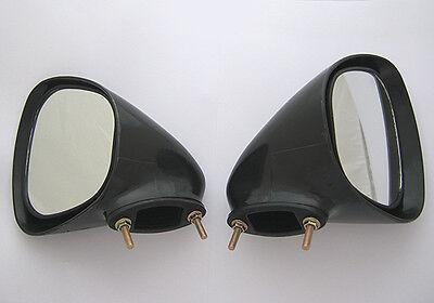 2 FORD XY GT TEAR DROP MIRRORS CAPRI CORTINA RX3 GEMINI DATSUN R100 RX2 RX4 808