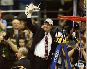 Bill Self Kansas Coach Signed 8x10 Photo Autograph BAS Beckett COA Authentic *09
