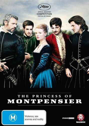 1 of 1 - The Princess Of Montpensier (DVD, 2011) VERY GOOD
