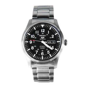 Seiko-5-Sports-Steel-Automatic-42mm-Case-Size-Men-s-Watch-SNZG13K1-RRP-299