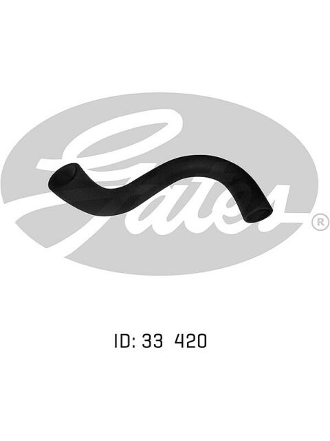 Gates Radiator Hose FOR FORD CAPRI (05-0150)