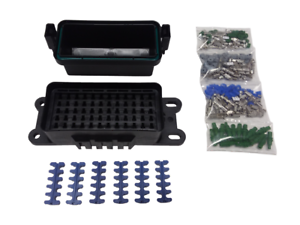 hwb60 waterproof sealed fuse relay panel block atv car. Black Bedroom Furniture Sets. Home Design Ideas