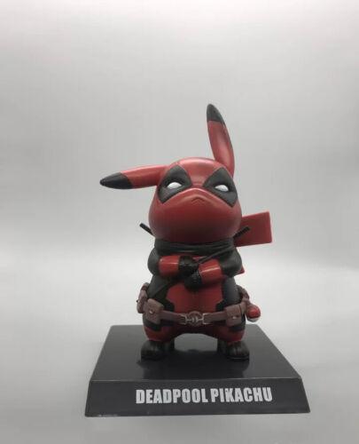 Pikachu Funko Cool Deadpool pokemon Pop Culture Figure One Lucky Day