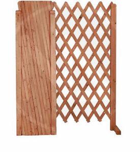Traliccio estensibile in legno 1 pz chiudibile ebay - Grigliati in legno ikea ...