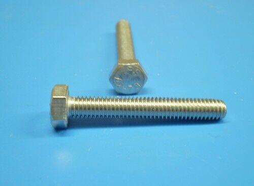 700 Stainless Steel Hexagonal Screw Assortment Din 933 M3 - M6 Mix Set V2A