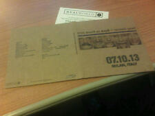 DOPPIO CD UFFICIALE PETER GABRIEL BACK TO FRONT LIVE 2013 MILANO 07.10.13
