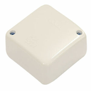 10-x-Small-Standard-Junction-Box-WHITE-40A-500-Volts-Electrical-Supplies