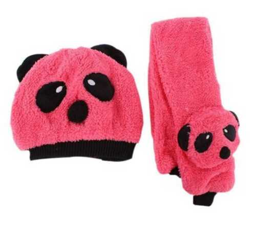 KCA243 1-3 year old Beanie-Scarf Set Toddler