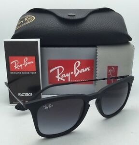 a2a1c78e7be New Ray-Ban Sunglasses RB 4221 622 8G 50-19 Black Rubber Frames w ...
