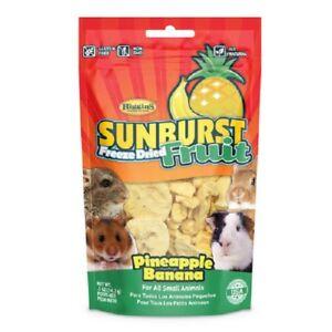 Higgins-Sunburst-FREEZE-DRIED-FRUIT-Pineapple-Banana-Sm-Animal-5-oz-MADE-IN-USA