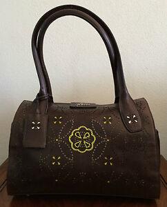 Handbags Brown Leather Heathrow Holdall