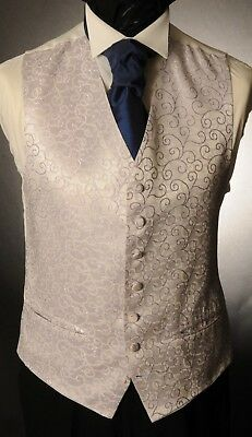 Cw28. Mens/boys Lilac Rumours Swirl Waistcoat / Dress/ Suit / Party / Formal