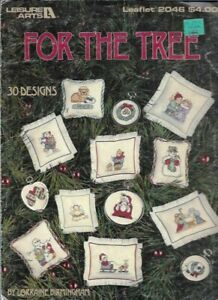 For-the-Tree-in-Counted-Cross-Stitch-Leisure-Arts-2046-1991-30-Mini-Designs