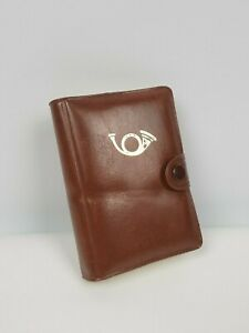 Agenda Notebook With Playing Cards Leather Notebook Made in Hong Kong Vintage