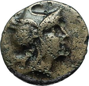 PHILIP-V-or-VI-ANDRISKOS-200BC-RARE-R1-Ancient-Greek-Coin-PERSEUS-HARPA-i66023