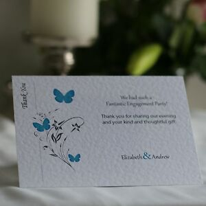 20-100-Butterfly-Personalised-Engagement-Thank-You-Cards