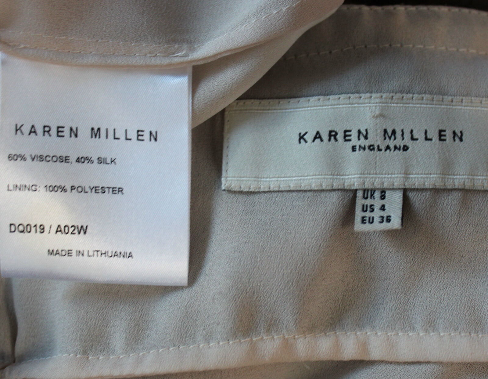 Karen Millen UK UK UK 8 braun Leopard Print Silky Strappy Metallic Rings Detail Dress c73420