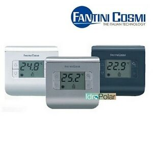 Termostato ambiente digitale a batteria fantini cosmi for Termostato fantini cosmi ch110