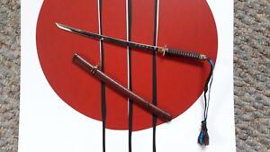 1-6-Hot-Toys-Marvel-The-Wolverine-MMS220-Japanese-Sword-W-Sheath-Loose-Figure
