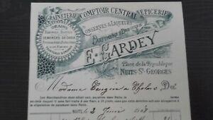 75 París Bonita Encabezado Graineterie Mostrador Central La Enero 1908