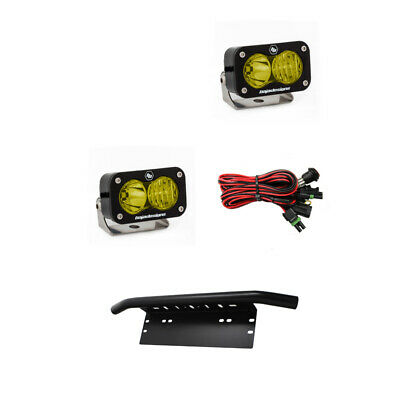 Baja Designs ATV S2 Pro Pair Driving Combo LED Lights Amber