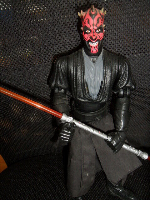 StarWars collection : FIGURINE DARK MAUL STAR WARS EPISODE 1- 27 cm.