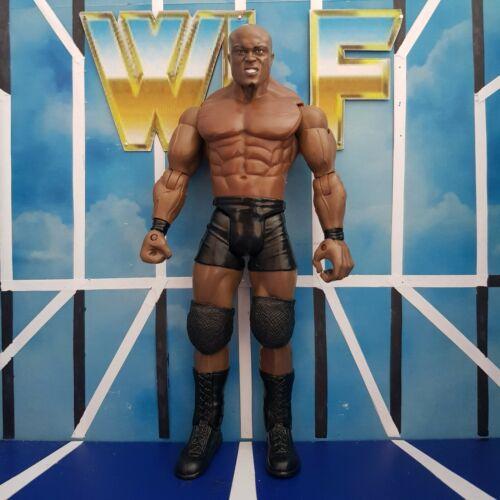 BOBBY LASHLEY-SPIETATO AGGRESSIONE RA-WWE Jakks WRESTLING FIGURE