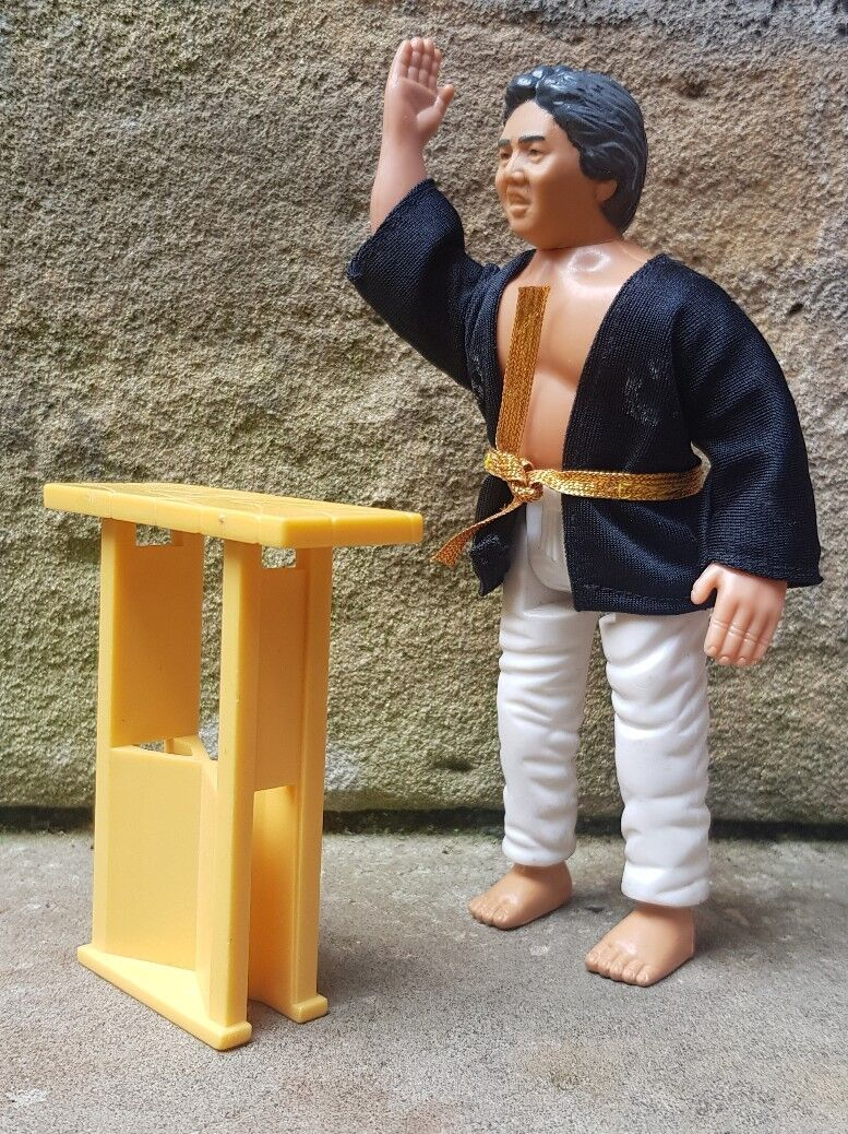 Karate Kid Remco/Hornby SATO Tri Action Figure 1986 1/12 Scale