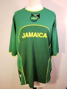 af68049d7f5 Image is loading Jamaica-Football-Federation-Soccer-Jersey-Shirt -SPORTZ-Size-