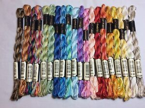 Anchor Perle Cotton Multicolour Theads size 5