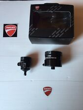 Set Bandejas Alu Ducati Performance Aceite Freno Embrague Cod.96180051A Mts1200