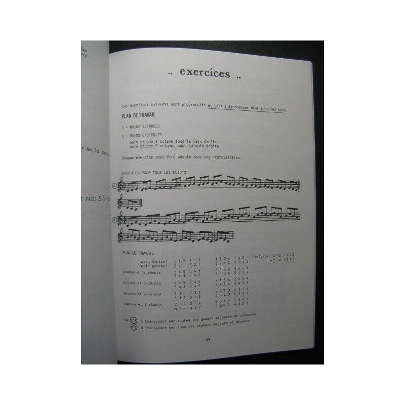 GALAS   CAMMAS Técnicas improvisación Tout Instrumento 1992 partitura partitura partitura sheet f9cd1f