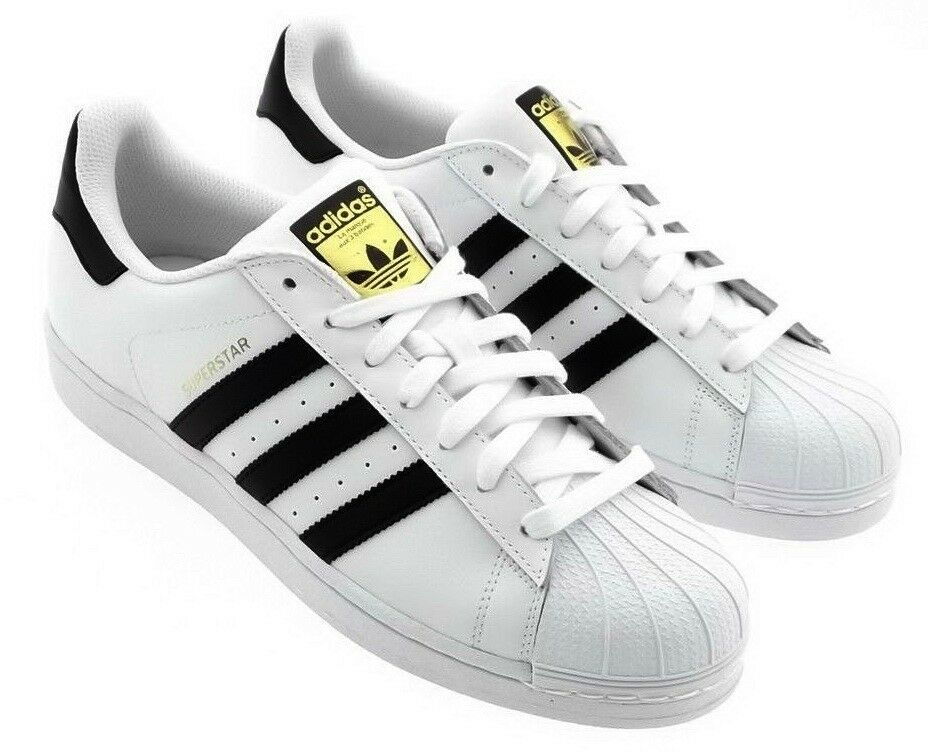 Adidas Hombres Superstar Superstar Superstar Foundation (Blanco/Core NEGRAS/PARA CORRER BLANCAS FTW) C77124 5aeed6
