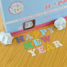 Cake Star Push Easy Upper Case Alphabet Plunger Cutters for Sugarcraft Hobbies