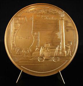 Medal-Marc-Seguin-Finder-Train-Locomotive-Boiler-Tubular-81-mm-Medal