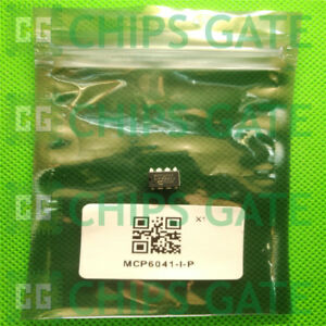 7PCS-MCP6041-I-P-IC-OPAMP-GP-14-kHz-RRO-8DIP-Microchip