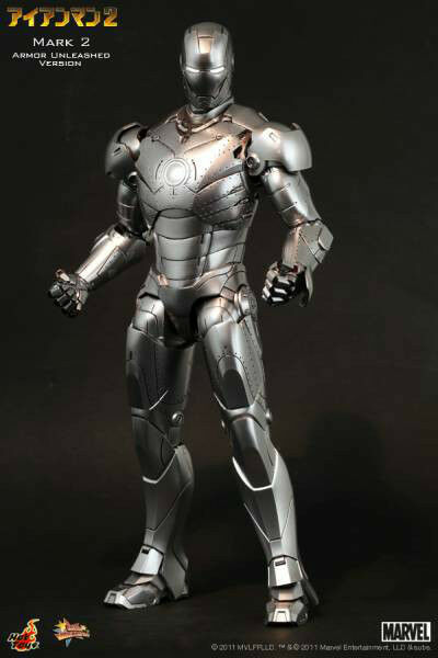 Hot toys MMS rare new iron man mark 2 unleashed JAPAN limited sideshow