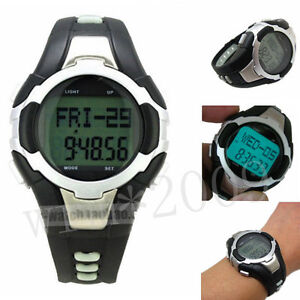 New-Sports-Exercise-watch-with-Pulse-Heart-Rate-Monitor-Pedometer-watch