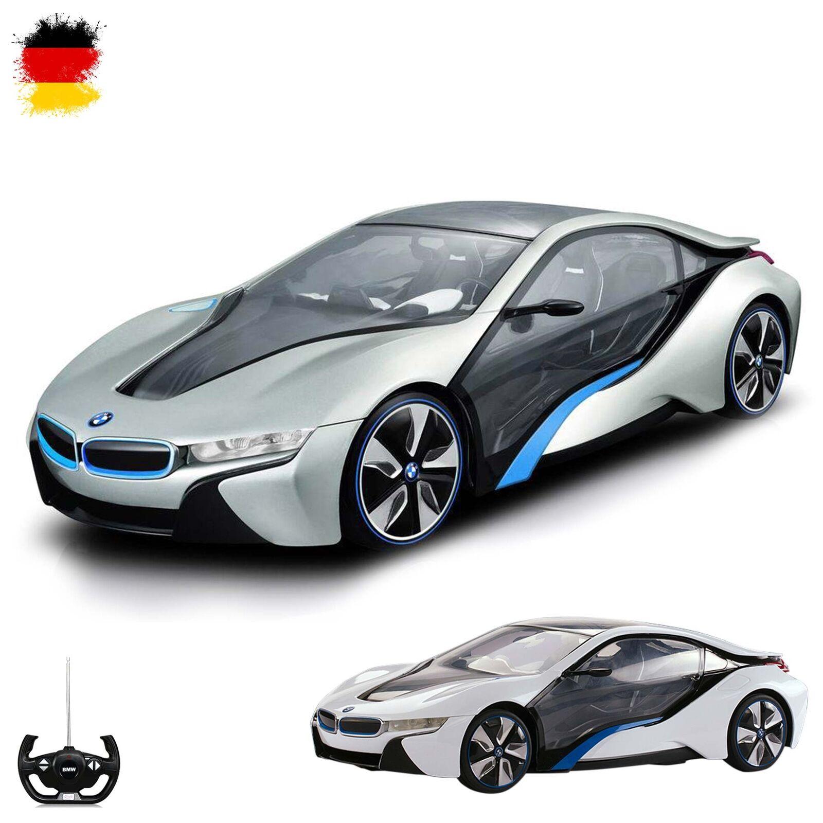 Original BMW i8 Vision Concept Car RC ferngesteuertes Auto Modell Fahrzeug Neu