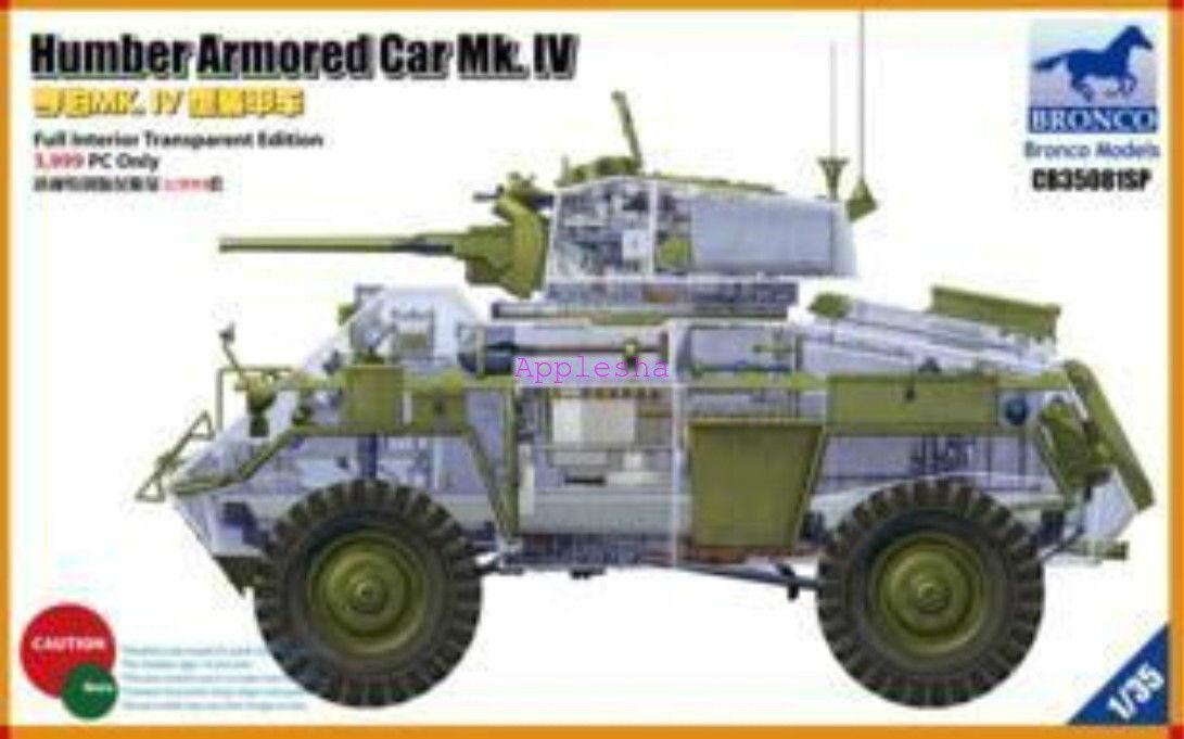 Bronco 1 35 35081SP Humber Armored Car Mk.IV