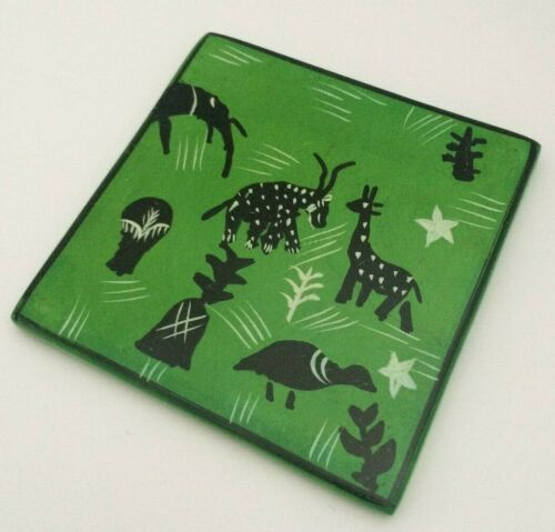 eco gifts Wildlife drinks coasters African drinks coaster fairtrade gifts