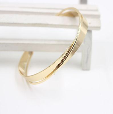 Women Fashion Lots Style Bracelet Gold Rhinestone Bangle Charm Cuff Jewelry