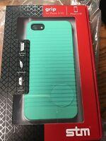 Stm Bags Protective Grip Case - Mint For Apple Iphone 5/5s Stm-322-032d-28
