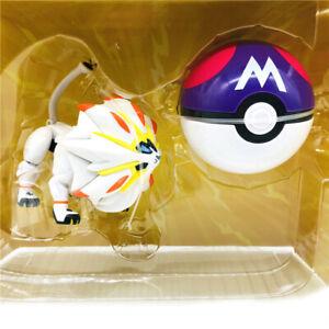 Pokemon Solgaleo Deformation Doll Poké Ball Action Figure Child Gift Toy New