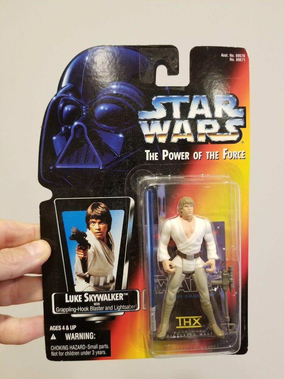 Star Wars Potf2 Japan THX Insert Luke Ben Moc Figures