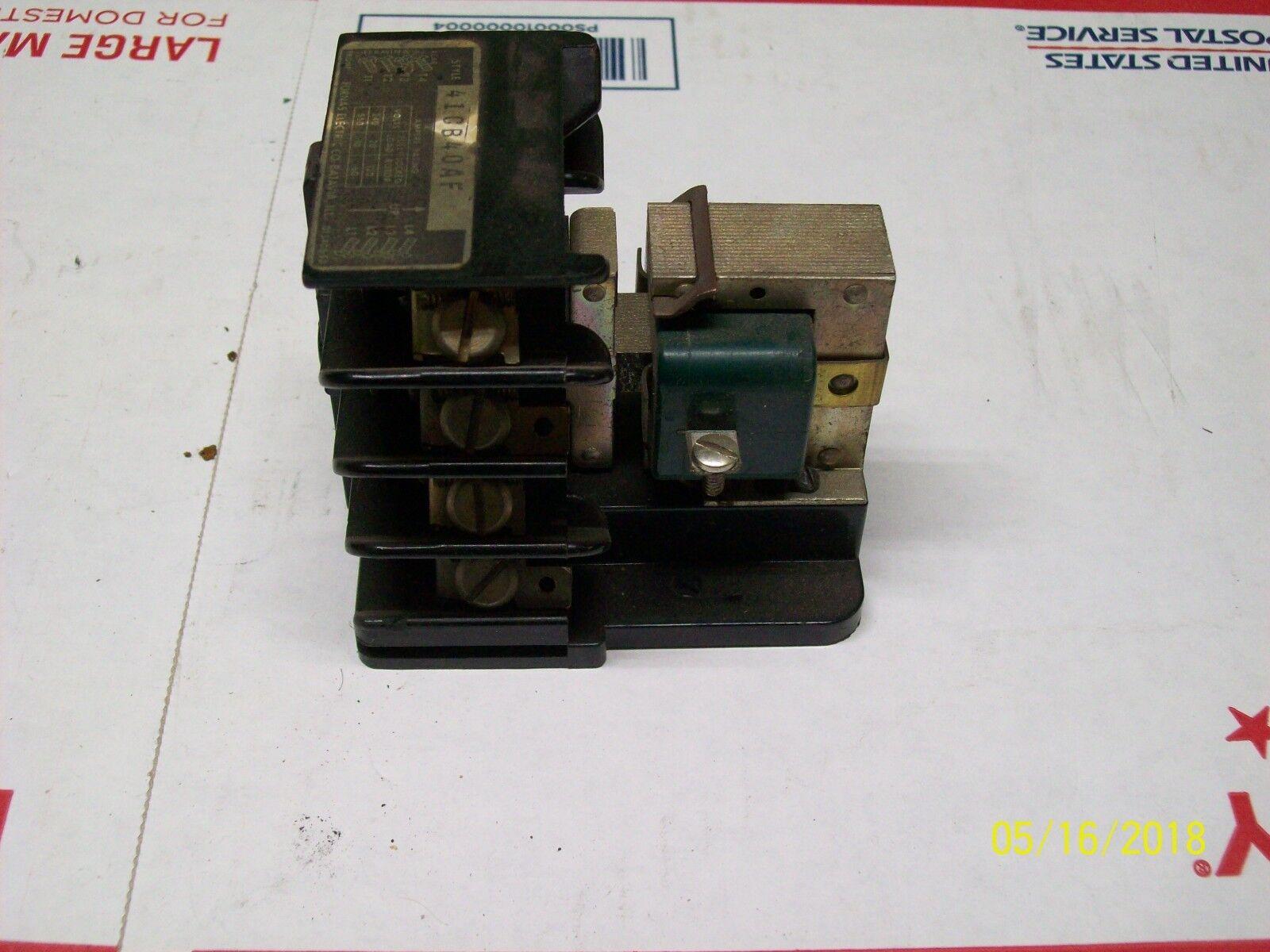 FURNAS ELECTRIC CONTACTOR , 41CB40AF