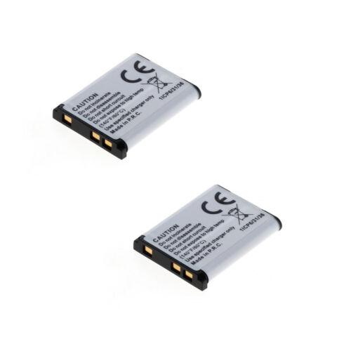 2 baterías para olympus fe-320